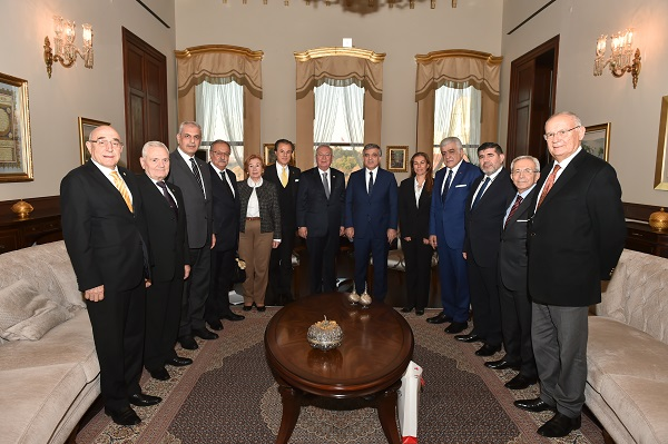 Abdullah Gül accepted the Marmara Group Foundation in h