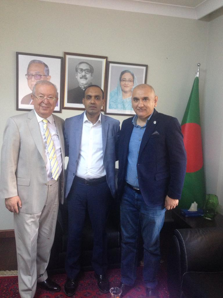 Visiting to Consul General of Bangladesh