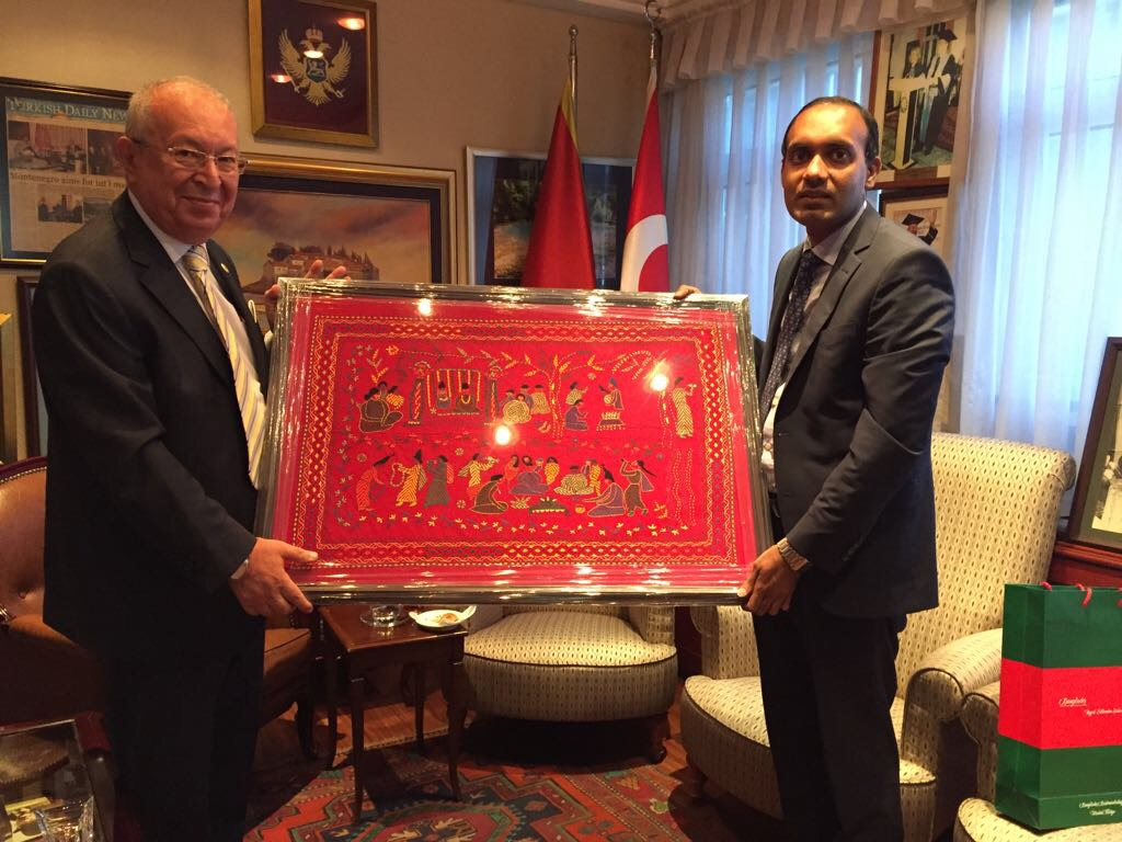 Visit of Consul General of Bangladesh to Istanbul