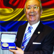 Dr. Akkan Suver Received the Peace Prize from The Prime Minister of Romania