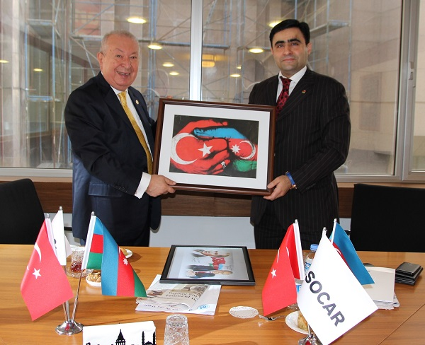 Dr. Suver visited SOCAR Turkey