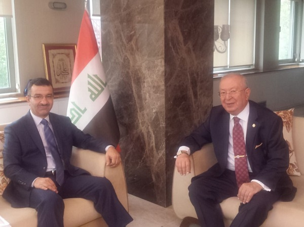 Visiting to Consulate General of Iraq in Istanbul