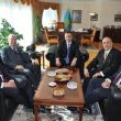 H.E. Zhanseit Tuimebayev, Ambassador of Kazakhstan to Ankara has Accepted Marmara Group Foundation