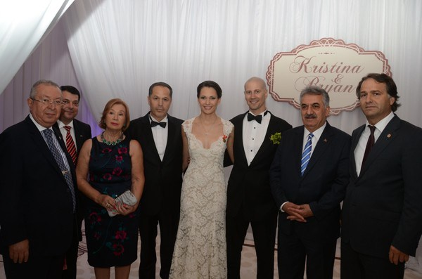 Dr. Akkan Suver and Müjgan Suver attended to wedding ce