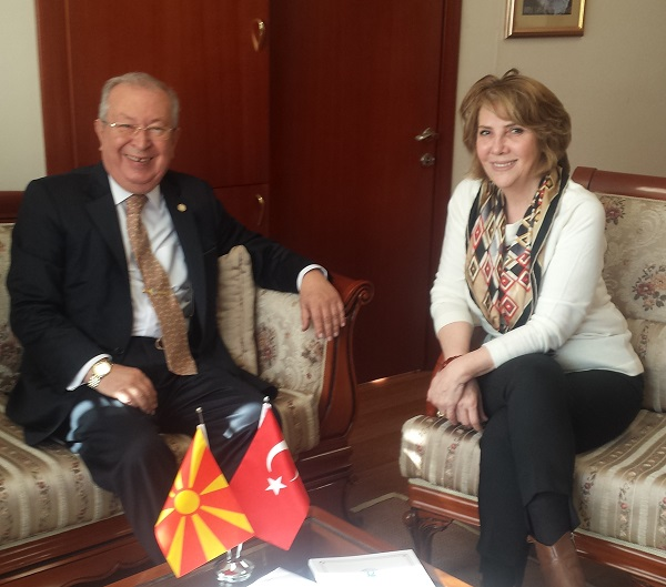 Macedonian Consul General Abaz received Dr. Suver