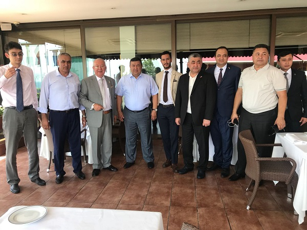 The Marmara Group Foundation gave a lunch for Governor
