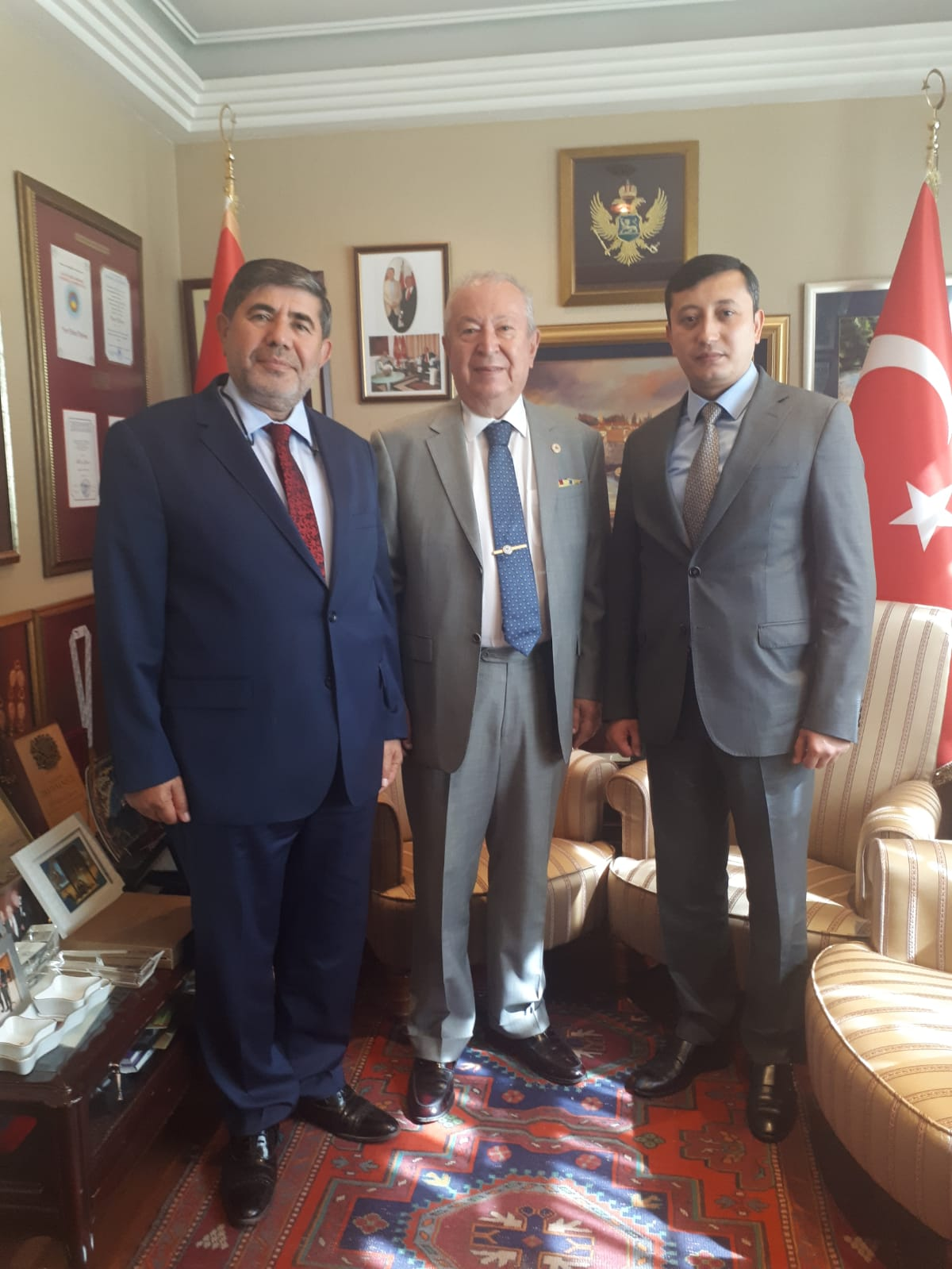 Consul General of Uzbekistan at the Marmara Group Found
