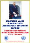 Post Election Reports Of The Marmara Foundation